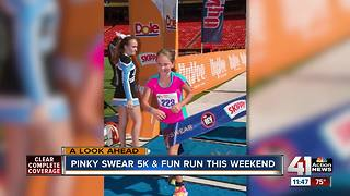 Pinky Swear 5K and fun run is this weekend - Video