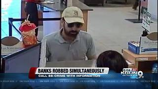 TPD searching for bank robbery suspects - Video
