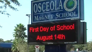 Students dismissed early at Osceola Magnet - Video