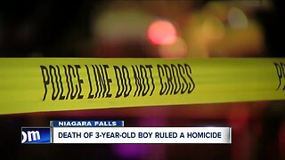 Death of 3-year-old ruled a homicide