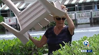 Delray Beach residents concerned about flooding