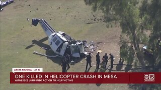 One killed in helicopter crash in Mesa