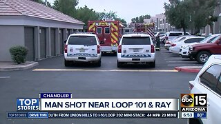 Man shot during armed robbery in Chandler