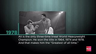 Remembering the greatest | Rare People - Video