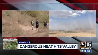 Dangerous heat hits the Valley - Video