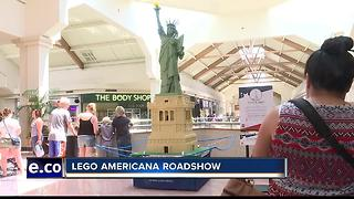 LEGO sculptures take over Boise Town Square Mall - Video