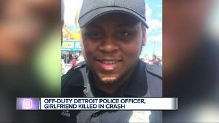 Off-duty Detroit police officer killed in crash on Woodward Avenue