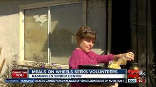 Bakersfield Meals on Wheels lacks volunteers and funding - Video