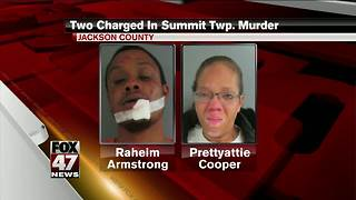 Two charged with murder in Jackson County shooting - Video