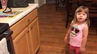Two-Year-Old Devastated After Alexa Fails to Understand Her - Video