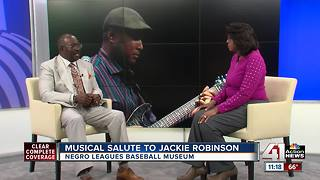 Musical salute to Jackie Robinson - Video