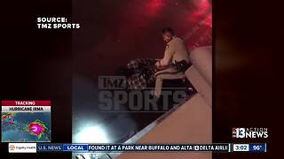 NFL football player Michael Bennett accuses police of excessive force - Video