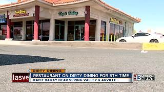 Dirty Dining report for July 18 - Video