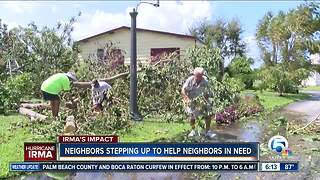 Neighbors helping neighbors across South Florida after Hurricane Irma - Video