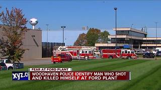 Police radio calls detail search for man in Woodhaven Ford plant - Video