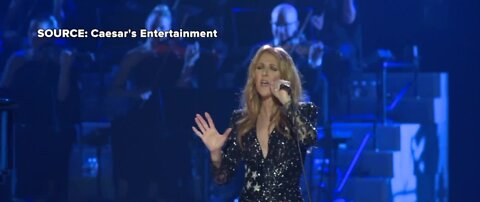 Celine Dion performs final show of her residency after nearly two decades on the strip
