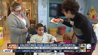 VALENTINES FOR CHILDREN AT HOSPITAL - Video