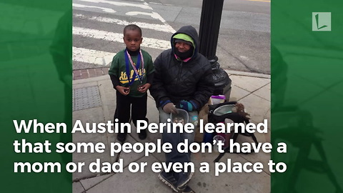 Kindhearted Age 4 Boy Delivers Chicken Sandwiches to Homeless People on Streets