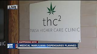 Medical marijuana dispensaries planned in Tulsa - Video