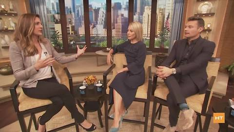 Hot Topics chats with Kelly Ripa and Ryan Seacrest