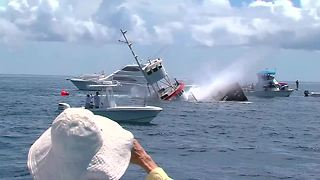Martin County gets a new artificial reef - Video