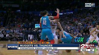 Denver Nuggets complete regular season series sweep of Oklahoma City Thunder with 115-105 victory