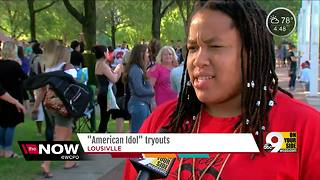 American Idol tryouts The Now - Video