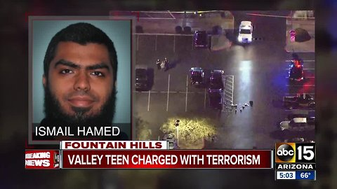 Teen shot by MCSO charged with terrorism