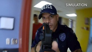 Palm Beach County School District police train for active shooters