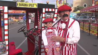 Legendary fair performer transforms from mime to ventriloquist