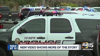 New video in deadly police shooting in Tempe