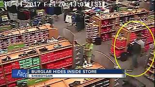 Sheboygan burglar hides in Shopko store for hours - Video