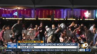 Tight security for concerts - Video