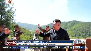 Las Vegas looking to Cold War history amid North Korea nuclear threat - Video