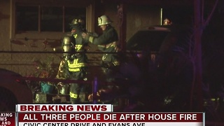 3 dead after North Las Vegas house fire
