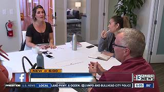 Female entrepreneurs getting shared workspace in downtown Las Vegas - Video