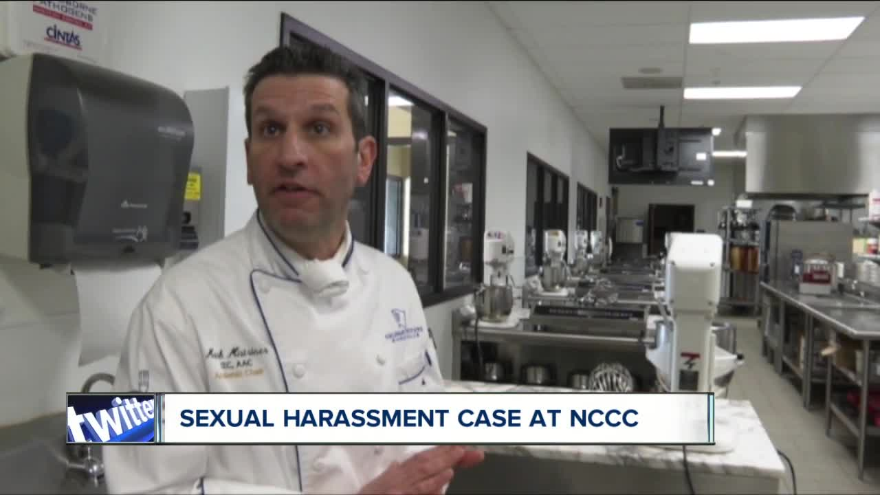 NCCC administrator accused of sexual harassment