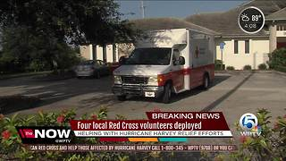 Four local Red Cross volunteers deployed - Video