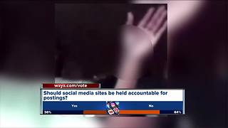 Should social media sites be accountable for livestreamed violence? - Video