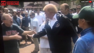 Trump Hears Truth From Harvey Victim - Video