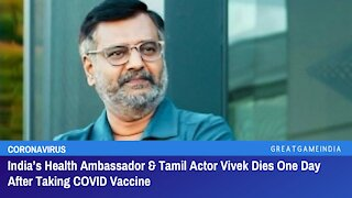 Indian Actor Dead After Televised Jab, US Jab Pushback And Canadian Police Give A Little Hope!