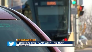 Milwaukee drivers are learning how to share the road with the Hop