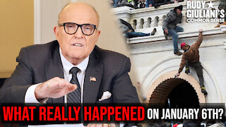 WHAT REALLY HAPPENED On January 6th? | Rudy Giuliani | Ep. 101