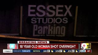 18-year-old woman shot in Walnut Hills - Video