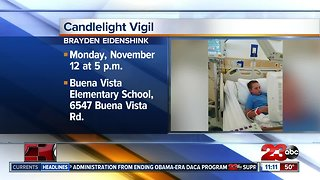 Candlelight Vigil for Brayden