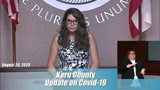 Kern County Public Health Briefing