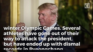 """Trump Curse"" Hits Olympians Who Trashed the President - Video"