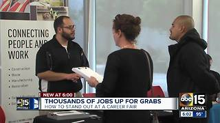 Thousands of jobs up for grabs at Valley career fairs - Video