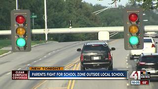 Shawnee Mission parents want school speed zone - Video