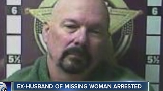 Ex-husband of missing woman arrested